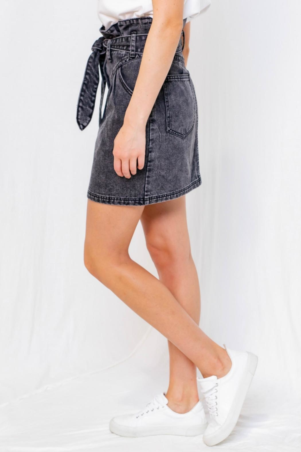 Gilli Washed Denim Mini - Back Cropped Image