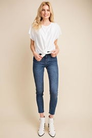 Gilli White Dots-Knot Top - Side cropped