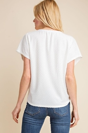 Gilli White Dots-Knot Top - Other
