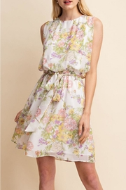 Gilli White Floral Dress - Product Mini Image