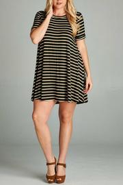 Gilli Stripe Tunic Top - Product Mini Image