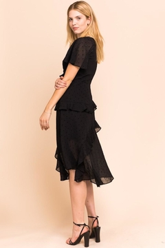 Gilli USA Stars Starring Black Layered Dress - Alternate List Image