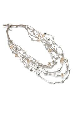 Gillian Julius Layered Crystal Necklace - Alternate List Image