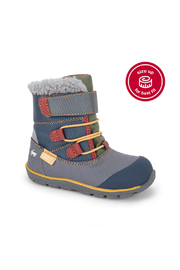 See Kai Run Gilman Waterproof Insulated Boots - Gray/Blue - Other