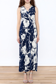 Gina Louise Blue Resort Maxi - Front cropped