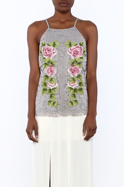 Gina Louise Cascading Roses Top - Side cropped