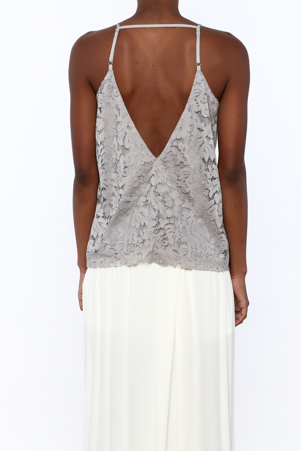 Gina Louise Cascading Roses Top - Back Cropped Image