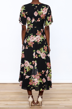 Gina Louise Floral Wrap Dress - Alternate List Image
