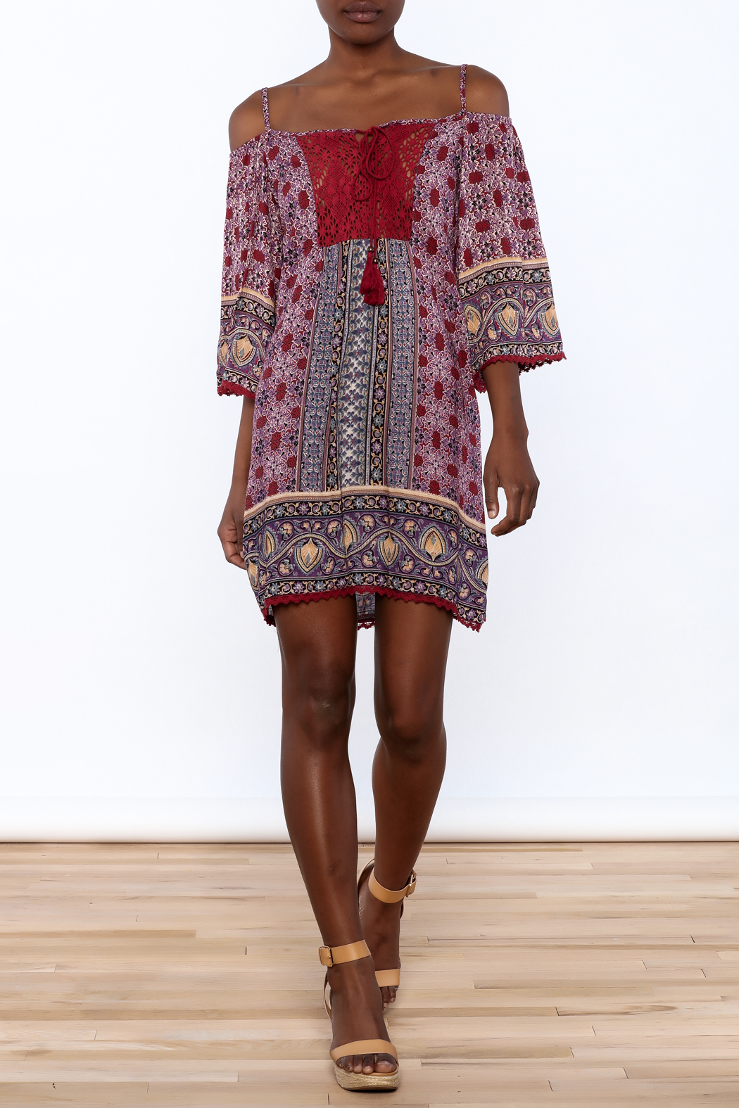 Gina Louise Gypsy Free Dress - Front Full Image