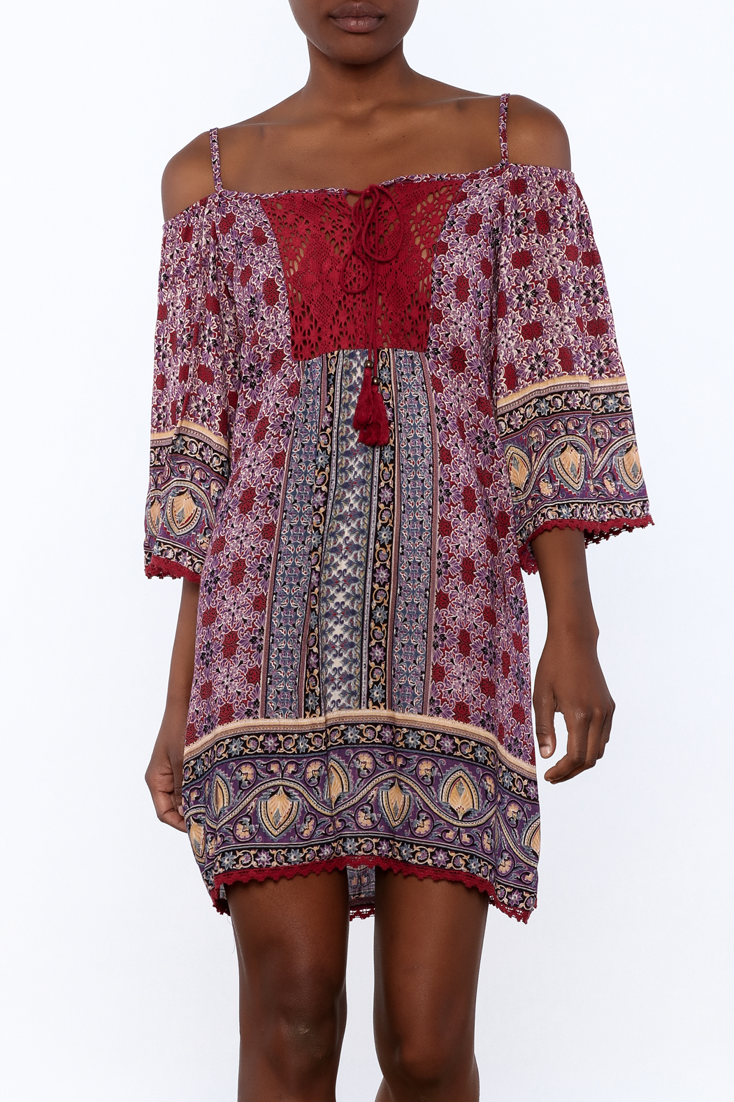 Gina Louise Gypsy Free Dress - Front Cropped Image