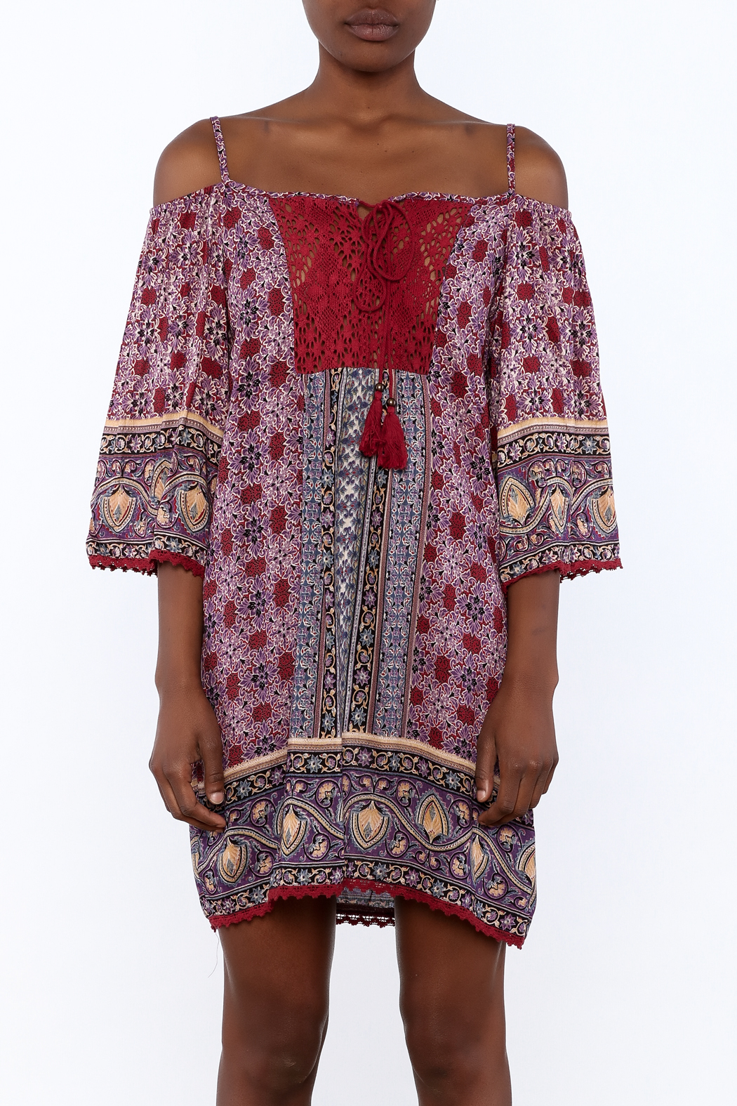 Gina Louise Gypsy Free Dress - Side Cropped Image
