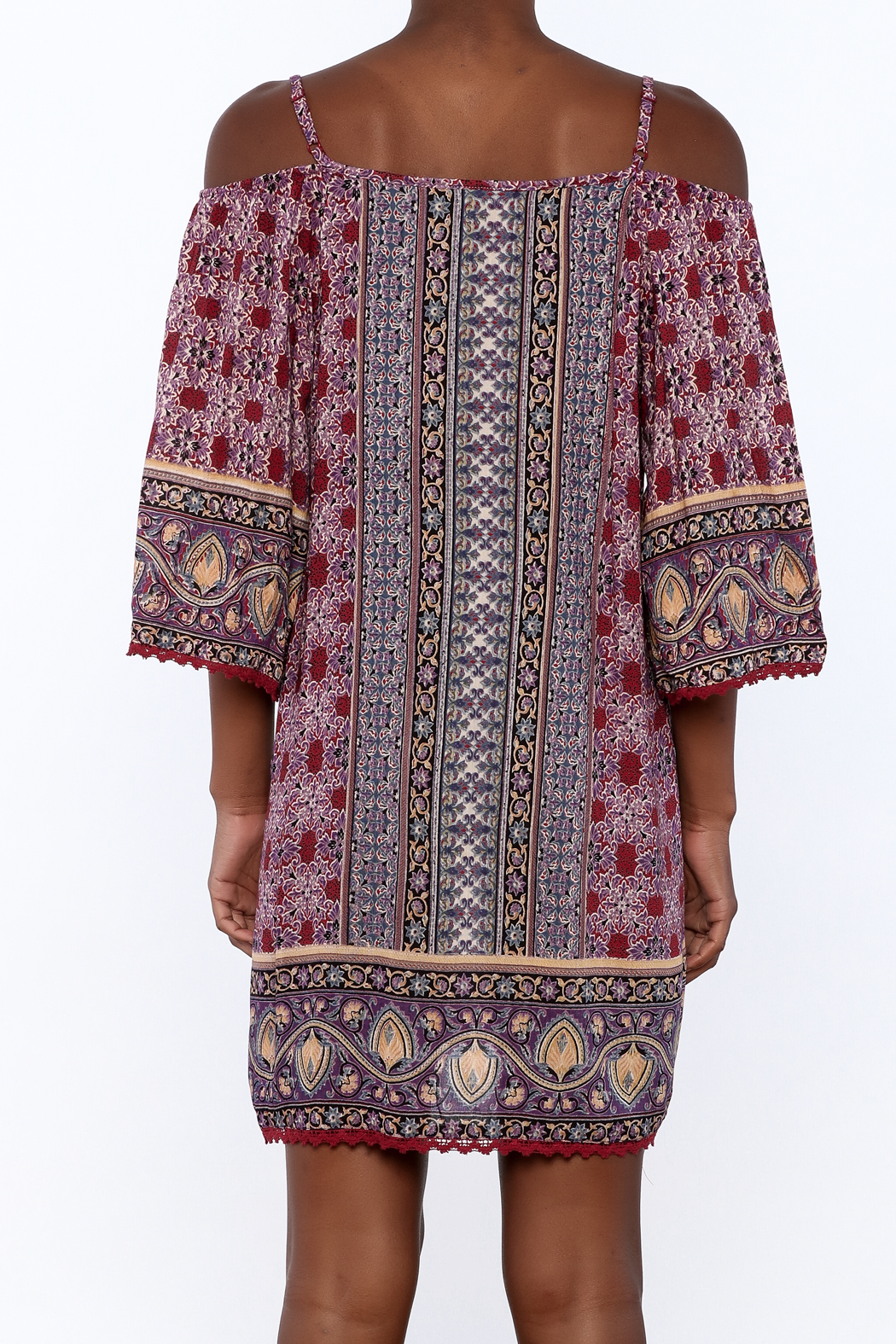 Gina Louise Gypsy Free Dress - Back Cropped Image