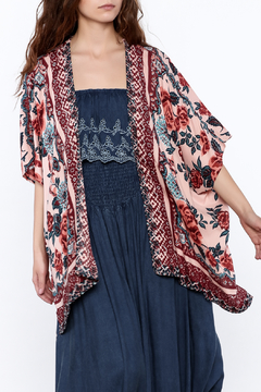 Gina Louise Chic Floral Print Kimono - Product List Image