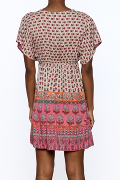 Gina Louise Pink Paradise Bohemian Dress - Alternate List Image