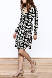 Gina Louise Floral Wrap Dress - Front full body