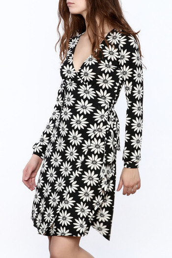 Gina Louise Floral Wrap Dress - Main Image