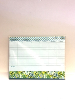 Shoptiques Product: Weekly Planner