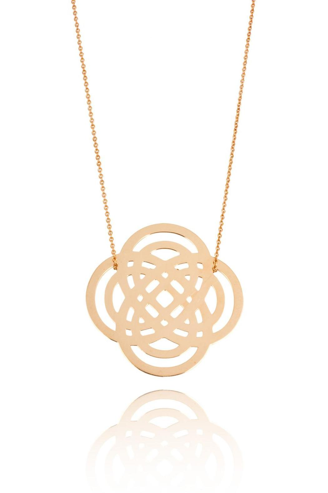 pink in purity rose mini ny normal jewelry necklace product lyst ginette gold gallery