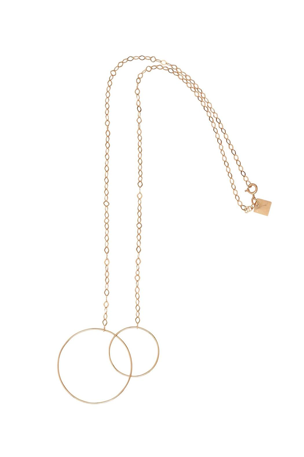Ginette NY Circle Fusion Necklace - Main Image