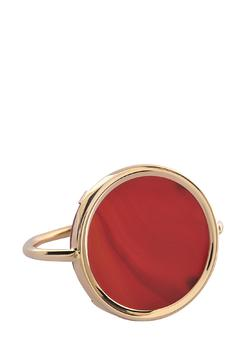 Ginette NY Cordoba-Carnelian Disc Ring - Product List Image