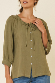 Hayden Los Angeles Ginger Blouse - Product Mini Image