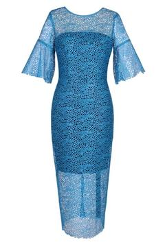 Ginger & Smart Sleeved Lace Dress - Product List Image