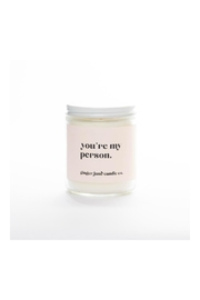 Ginger June Candle Co. My Person Candle - Product Mini Image