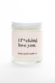 Ginger June Candle Co. Love You Candle - Product Mini Image