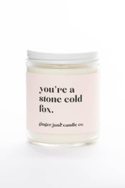 Ginger June Candle Co. Stone Cold Fox - Product Mini Image