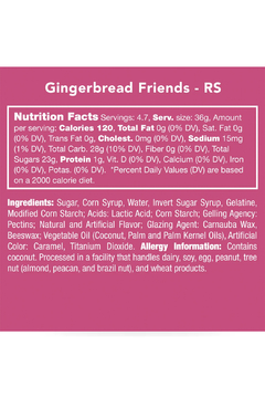 Candy Club Gingerbread Friends - Alternate List Image