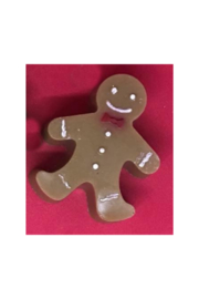 The Birds Nest GINGERBREAD MAN SOAP - Front cropped