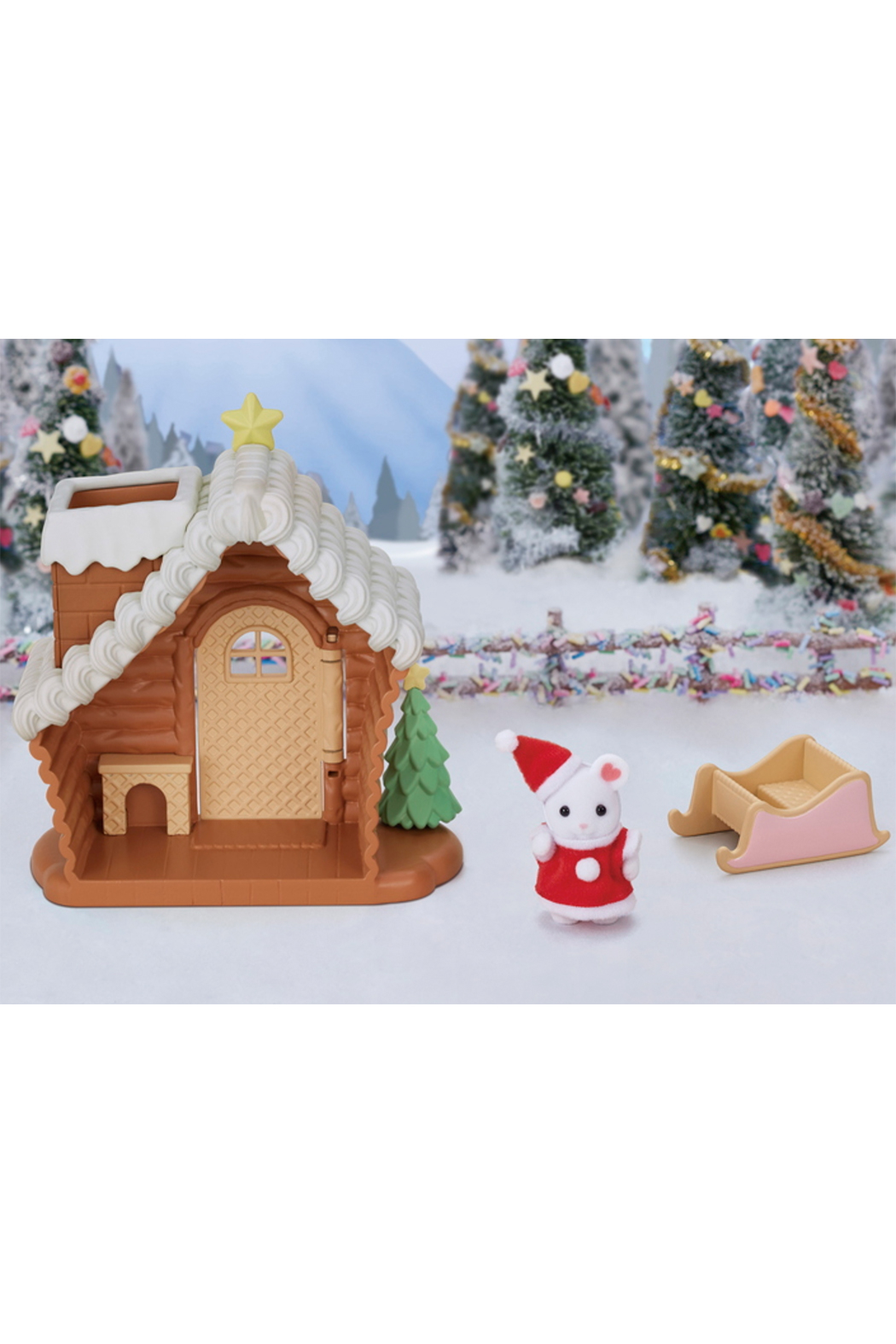 Calico Critters Gingerbread Playhouse - Front Full Image