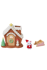 Calico Critters Gingerbread Playhouse - Front cropped