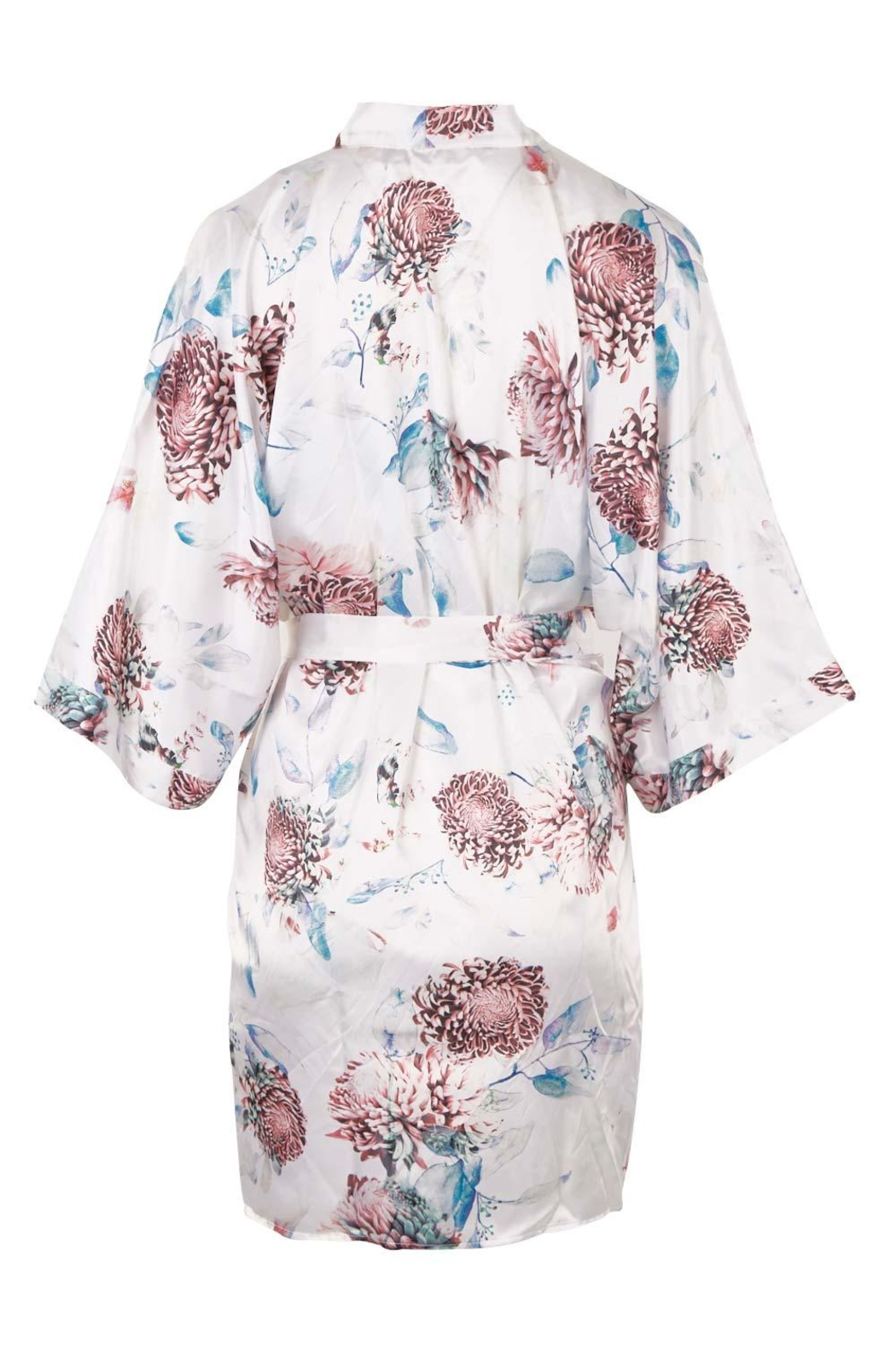 Gingerlilly Keely Satin Robe - Side Cropped Image