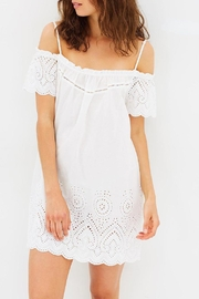 Gingerlilly Paloma Cotton Slip - Front full body