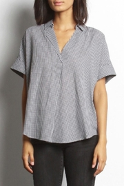 Mod Ref Gingham Checkered Blouse - Product Mini Image