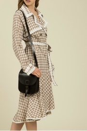 MHGS Gingham Coat Dress - Front cropped