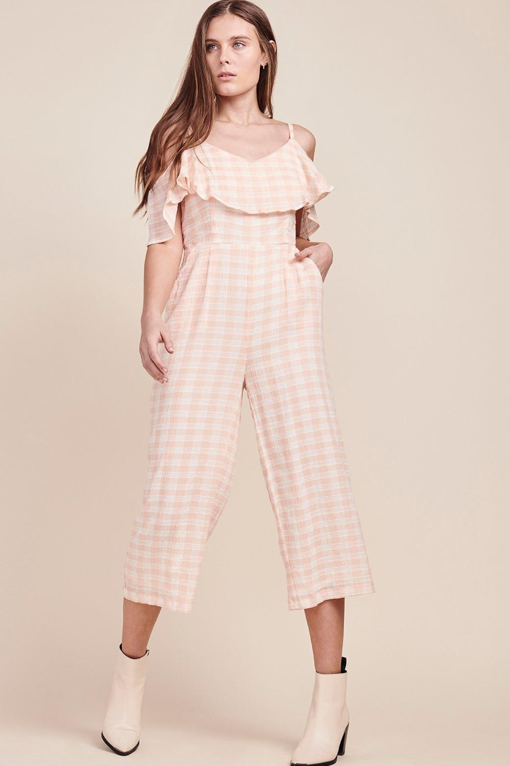 3c4a505dfce BB Dakota Gingham Cropped Jumpsuit from Iowa by Weathered Elements ...