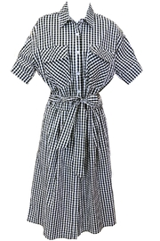 Dixie Gingham Dress - Product Mini Image