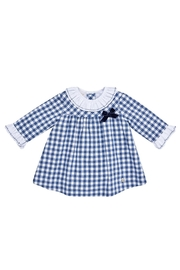 Paz Rodriguez Gingham Dress. - Front cropped