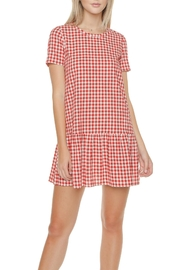 First Monday Gingham Drop-Waist Dress - Product Mini Image