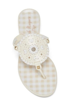 Jack Rogers Gingham Georgica Jelly - Product List Image
