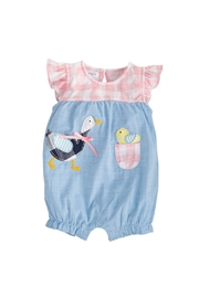 Mud Pie Gingham Goose Bubble - Product Mini Image
