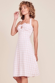 BB Dakota Gingham Halter Dress - Product Mini Image