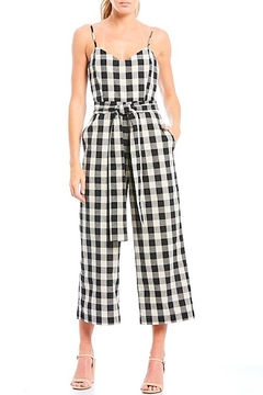 English Factory Gingham Jumpsuit - Product List Image
