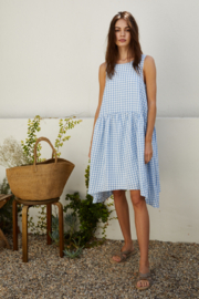 By Together Gingham Maxi Dress - Product Mini Image