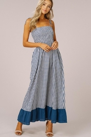 Listicle Gingham Maxi Dress - Other