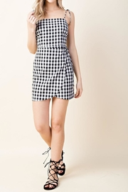 Wild Honey Gingham Mini Dress - Product Mini Image