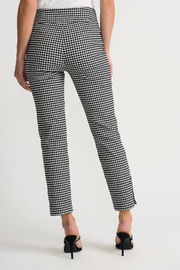 Joseph Ribkoff  Gingham Pants - Side cropped
