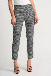 Joseph Ribkoff  Gingham Pants - Product Mini Image
